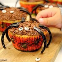 Daim muffins forklædt som eddercupcakes