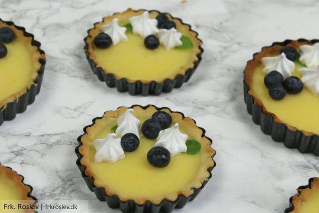 lemoncurd, lemoncurd-taerter, citrontaerter, taerter, opskrift, dessert