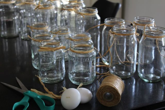 - Forberedelse til bordene -