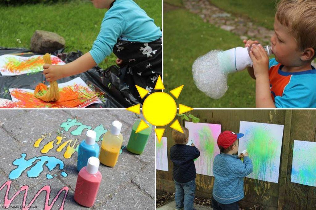 6 sjove udendørsaktiviteter for børn