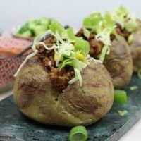 Taco kartofler - nem og lækker aftensmad