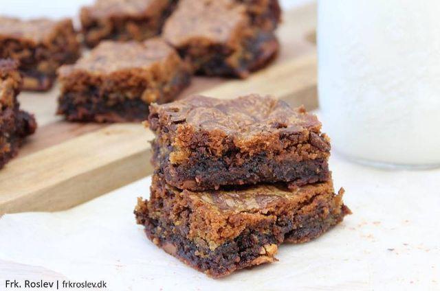 brookies, brownie, cookies