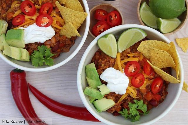 chili con carne, mexicansk mad