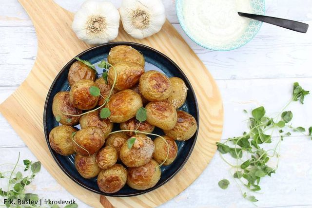 Saltbagte kartofler