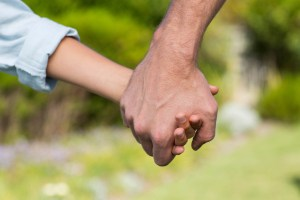 Fathers hand iStock
