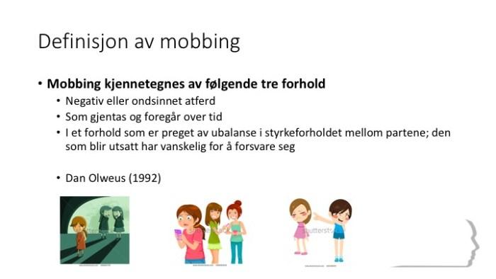def mobbing olweus