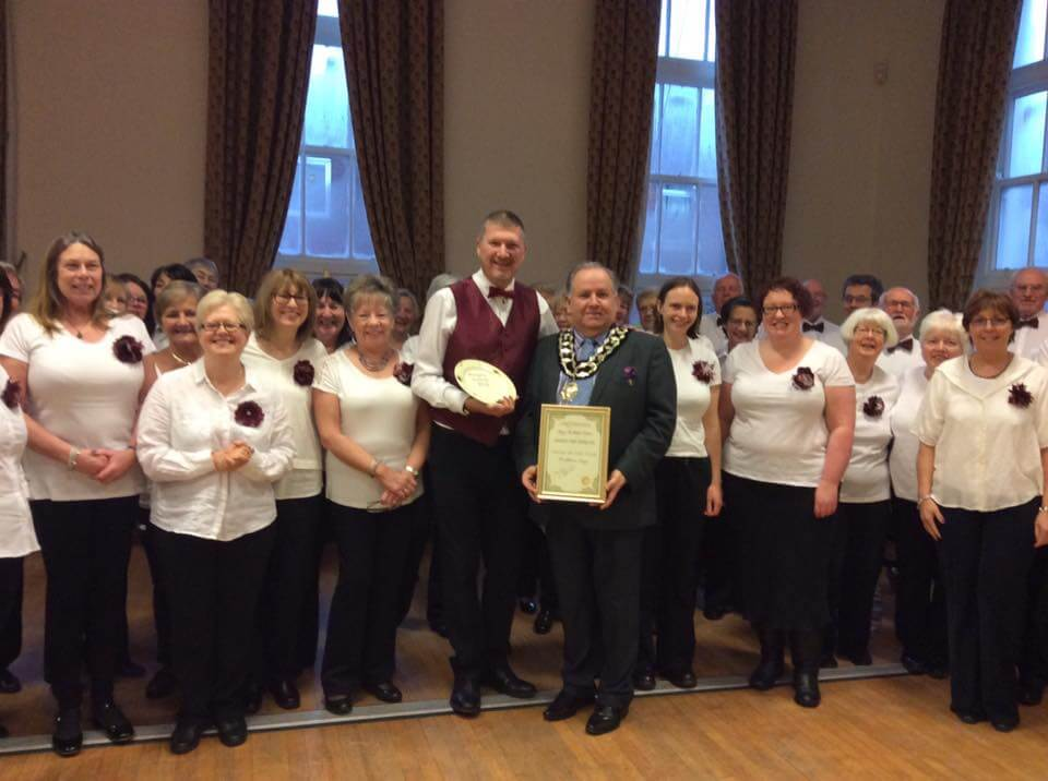 FS Receive Mayor of Frodsham's Community Award
