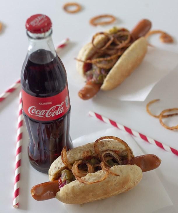 Hjemmelavede hotdogs