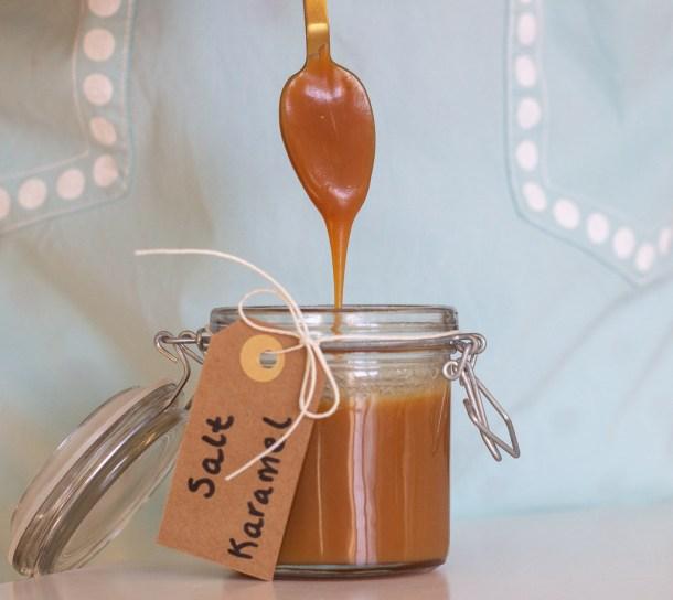 Saltet karamelsauce
