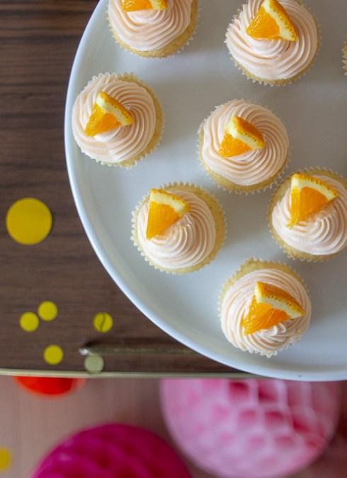 Mini cupcakes med Aperol Spritz