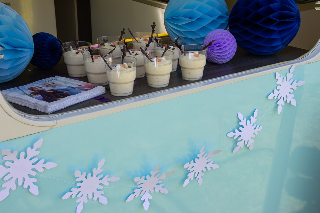 Olaf frost hvid chokolademousse