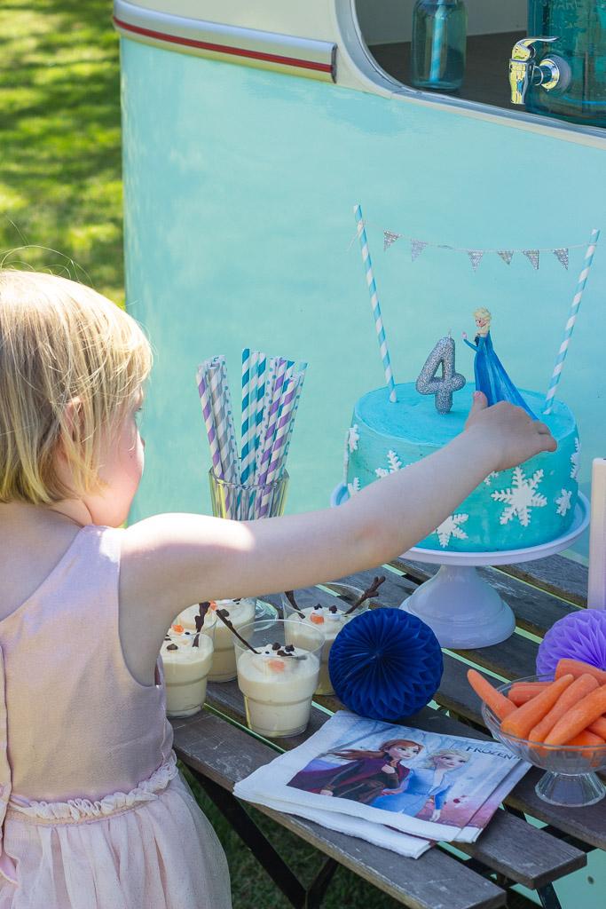 Fødselsdagsfest med Frost tema