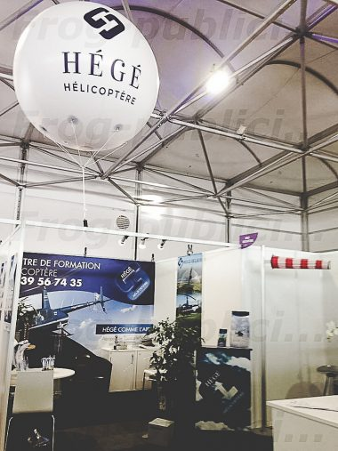 plv salon professionnel hégé hélicoptère | SALON INTERNATIONAL DU BOURGET 2017