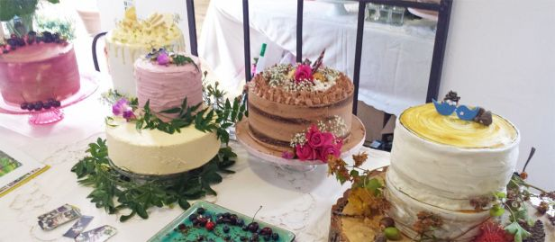 Oxnead Wedding Show bakes by Buns of Fun