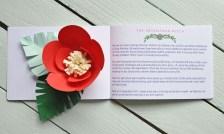 Abi & Rob Little Bespoke Book Wedding Invitation Love Story Page