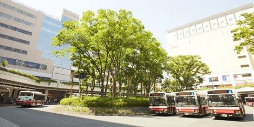 新百合ケ丘駅の光景