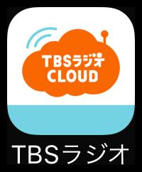 TBSラジオCLOUDのアイコン