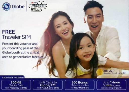 Globe FREE Traveler SIM