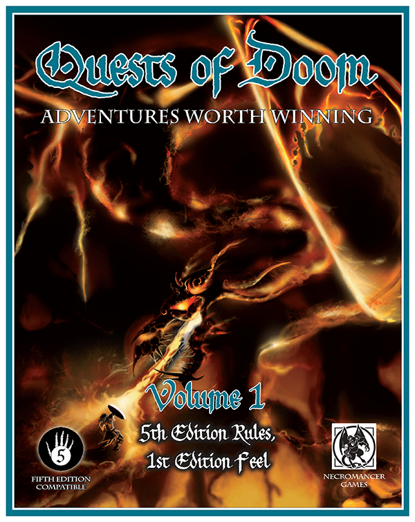 Cover of Quests of Doom: Volume 1 (5e)