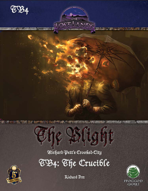 Cover of TB4: The Crucible