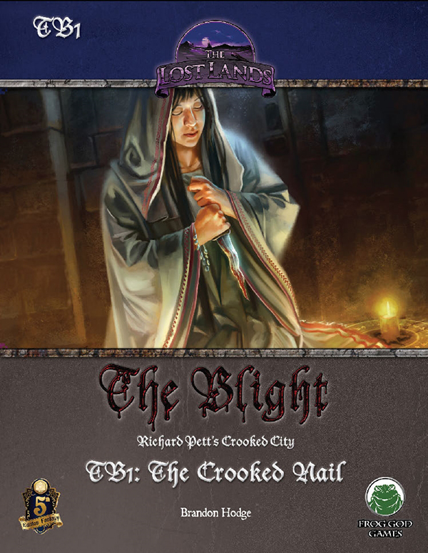Cover of TB1: The Crooked Nail