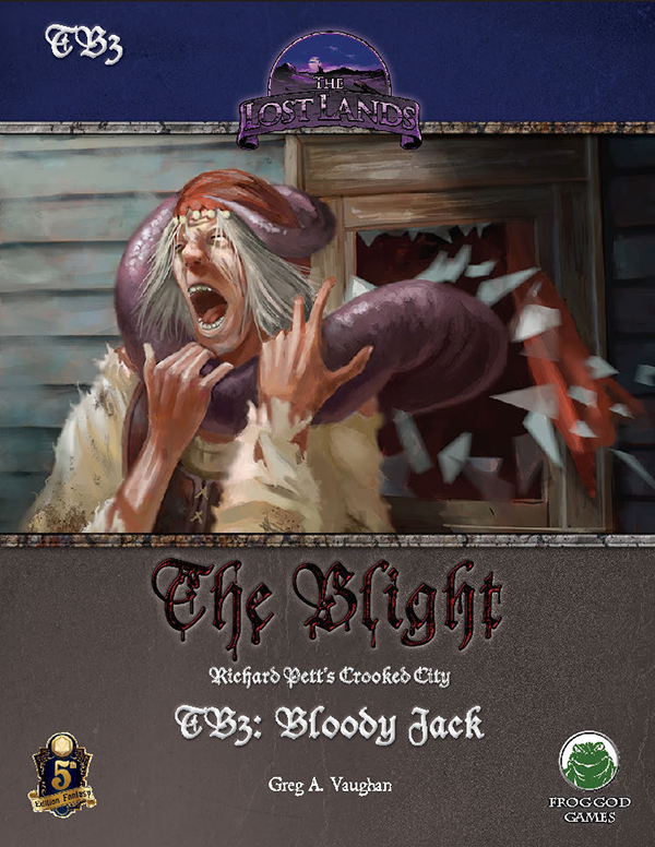 Cover of TB3: Bloody Jack