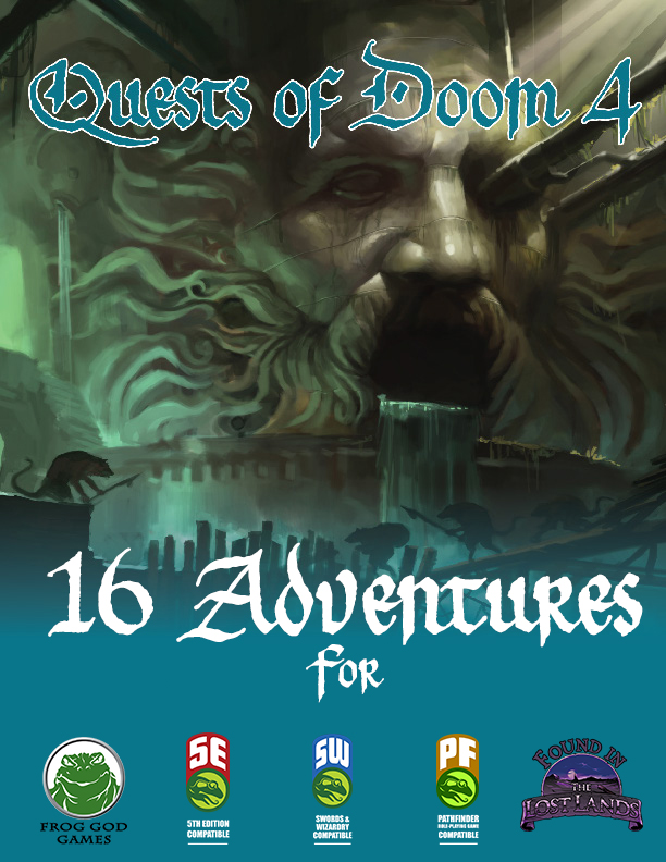 Cover of Quests of Doom 4