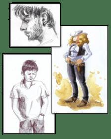 Cours de Dessin de personnage FROGGY ART - Lyon