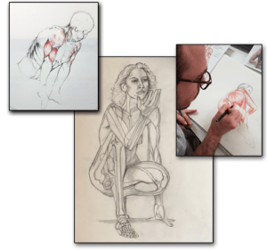 cours d'anatomie - Froggy Art Lyon 3