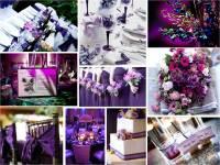 Wedding purple deco   Froggy Frogs