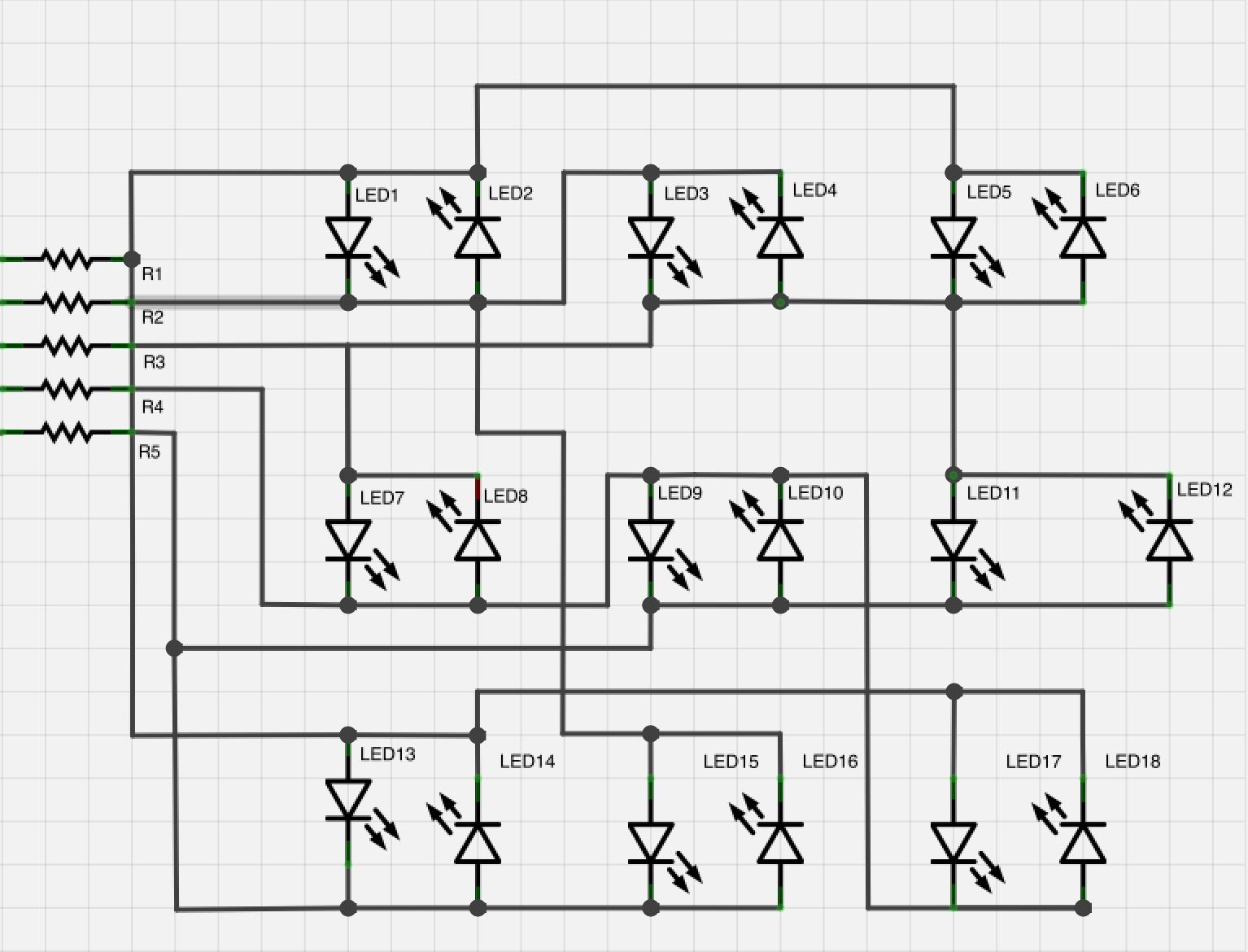 Building A Very Simple Binary Clock