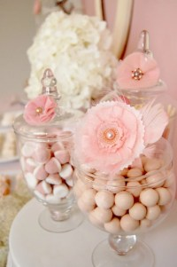 Candies Jars, Candy Bars, S'Mores Bar, Baby Shower Ideas