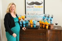 Mustache Bash Baby Shower {Real Party} - Frog Prince Paperie