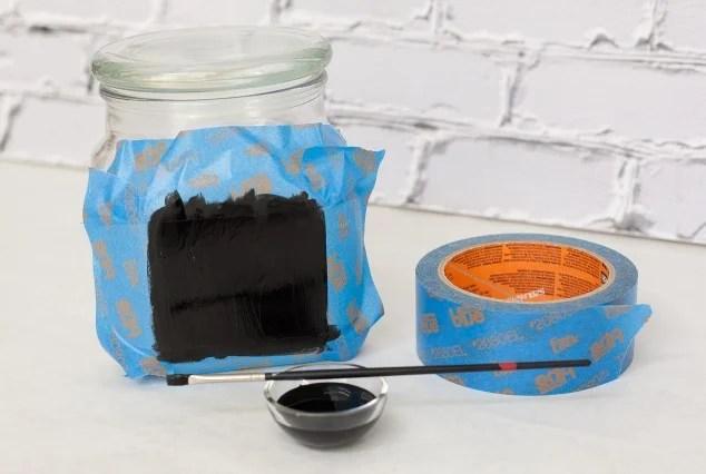 μαυροπίνακα βάζο-2