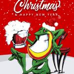 青蛙墨西哥餐廳祝您聖誕快樂!Merry Christmas and happy New Year!