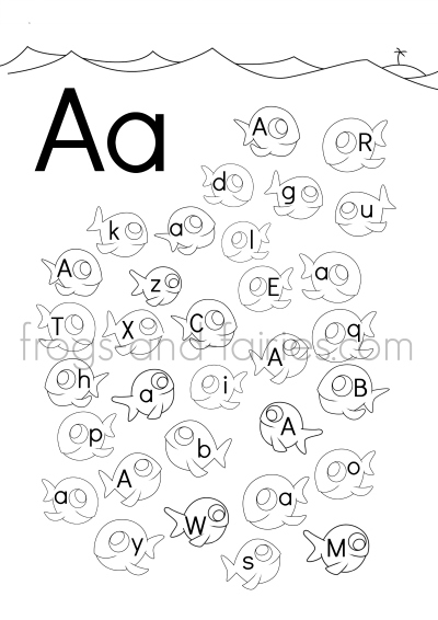 find the alphabet # 22