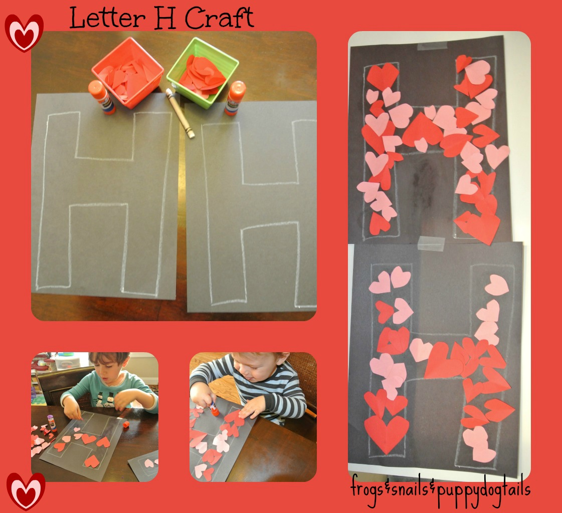 Letter H Worksheet Coloring Page And Craft
