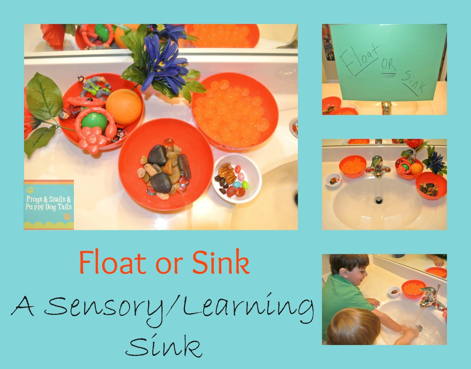 Sink Or Float Sensory Sink Learning Activity For The Kids