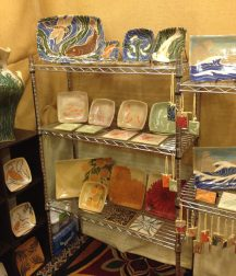 Booth display at Craft Vermont, 2012