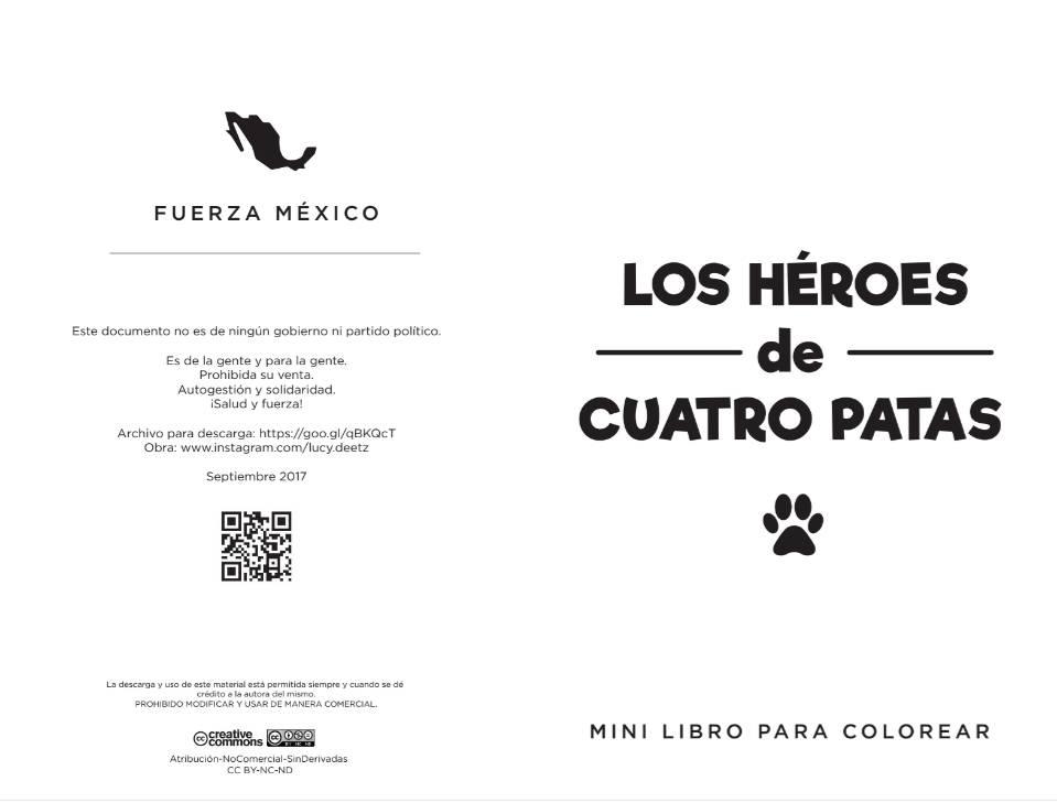 Libro Para Colorear Basado En Frida Y Los Héroes Can
