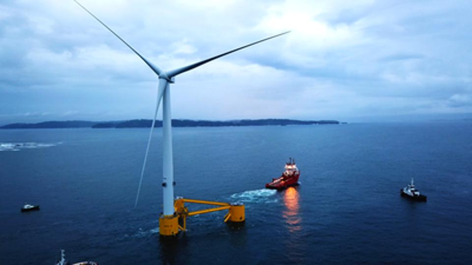 New Information released by GE about Floating Wind Turbines