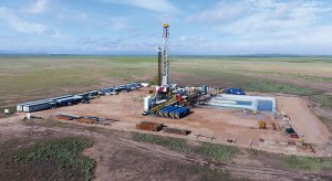 Texas Permian Oil Drilling in Operation with Permit