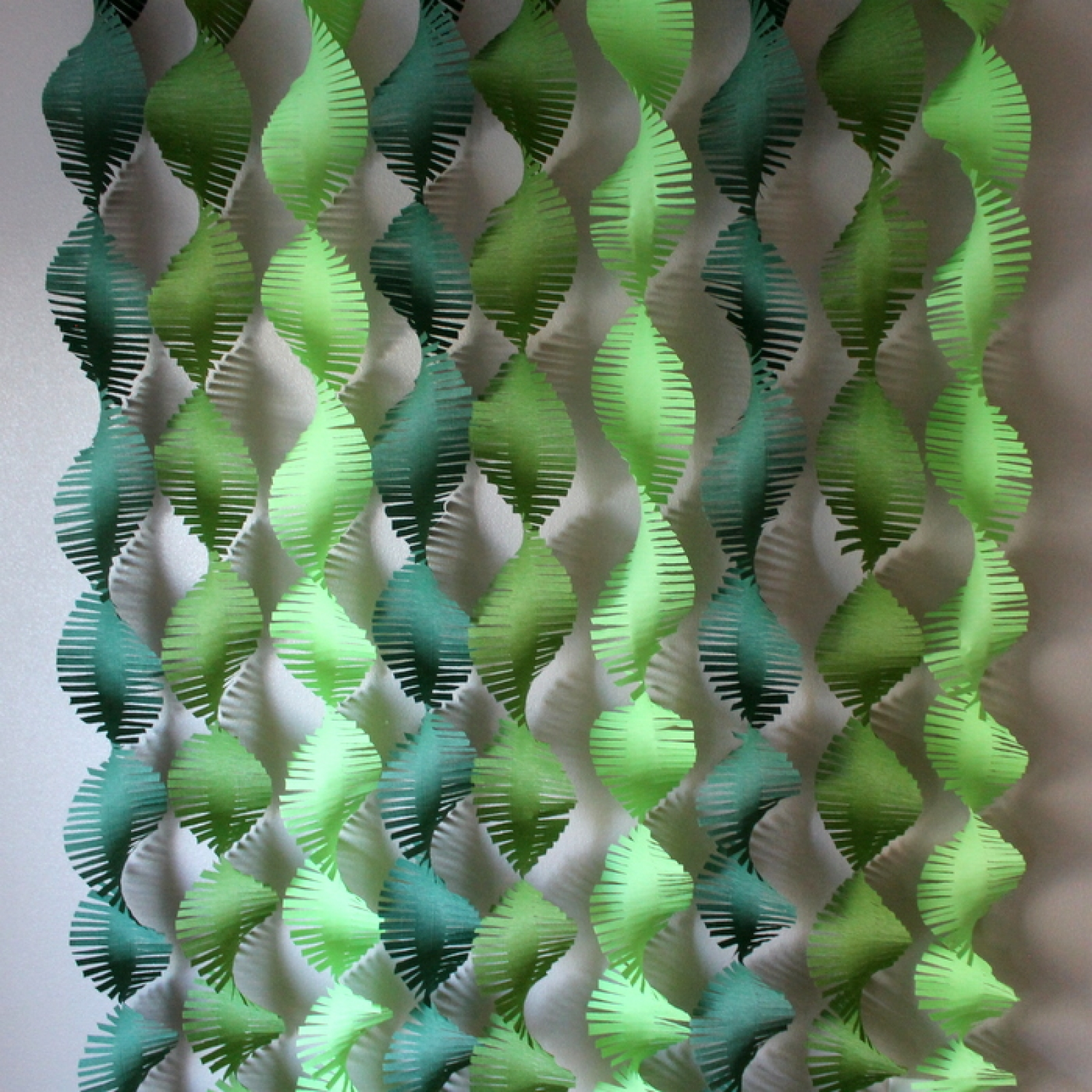 Green Variety Backdrop Streamers  Frolic and Frills