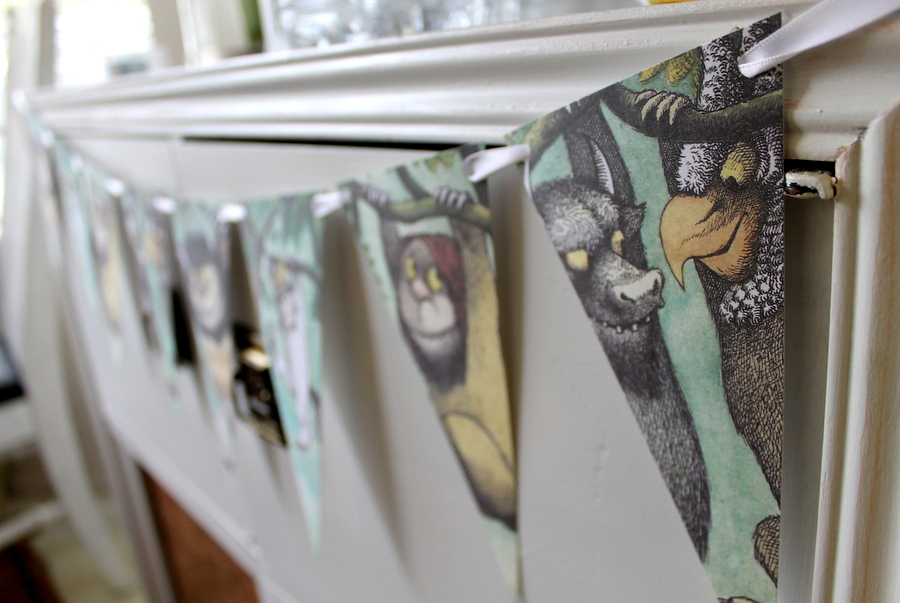 Where The Wild Things Are PDF Pennant Banner Frolic And
