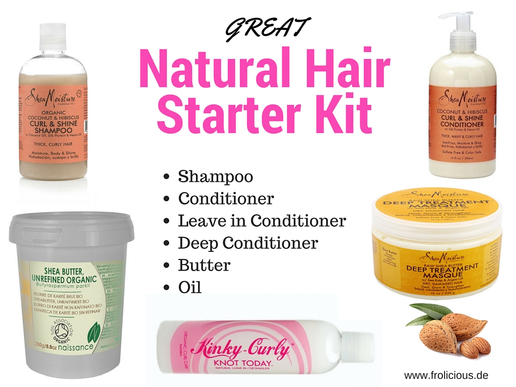 Natural Hair Starter Pack