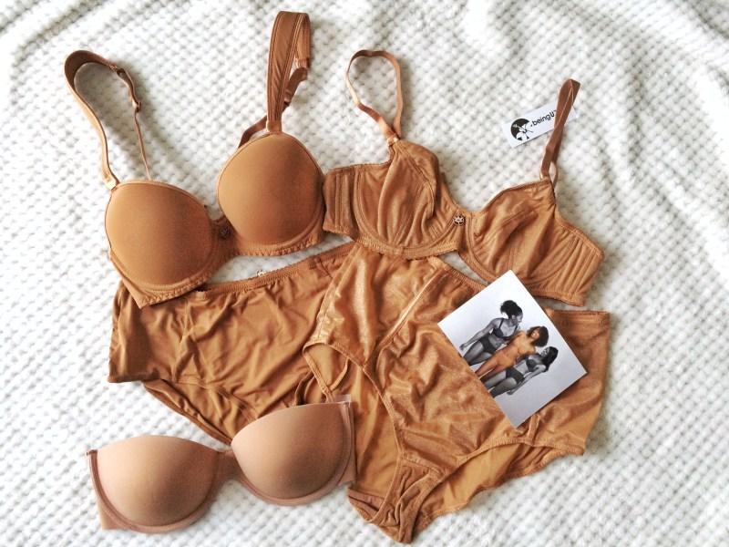 beingU skin tone lingerie - Nude Unterwäsche-Kollektion