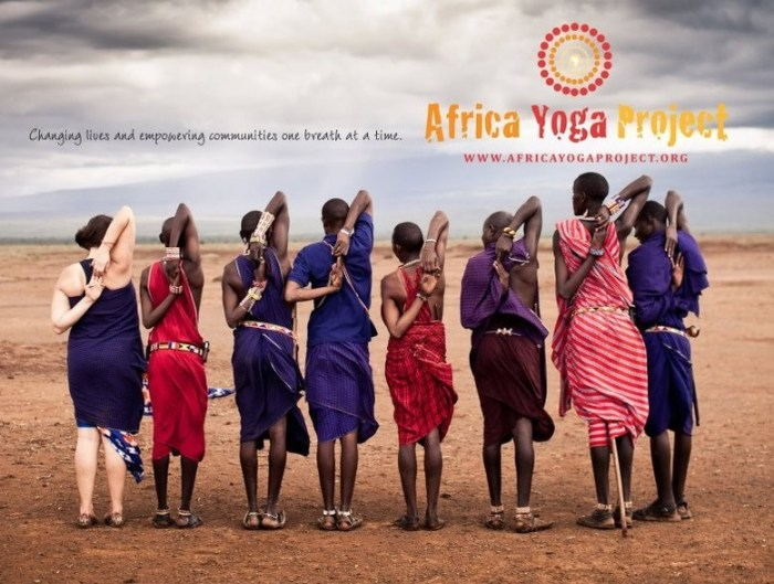 The Africa Yoga Project