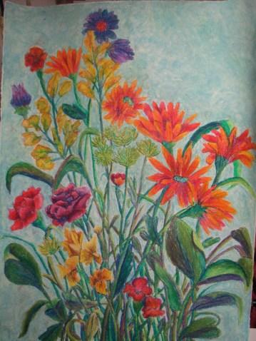 Untitled, Oil Pastel 2010