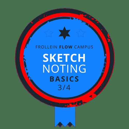 Sketchnoting Basics Badge 3/4