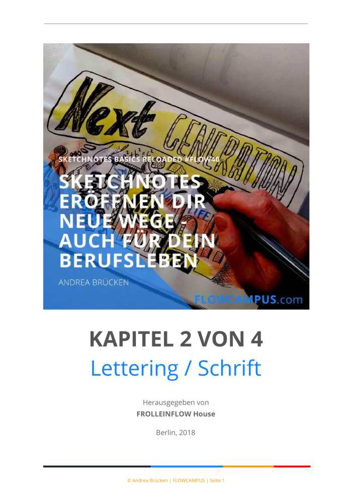 Kapitel 2: Lettering